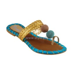 Gul Ahmed Casual Wear Slippers 2014 For Girls 4