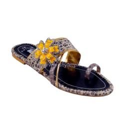 Gul Ahmed Casual Wear Slippers 2014 For Women 7