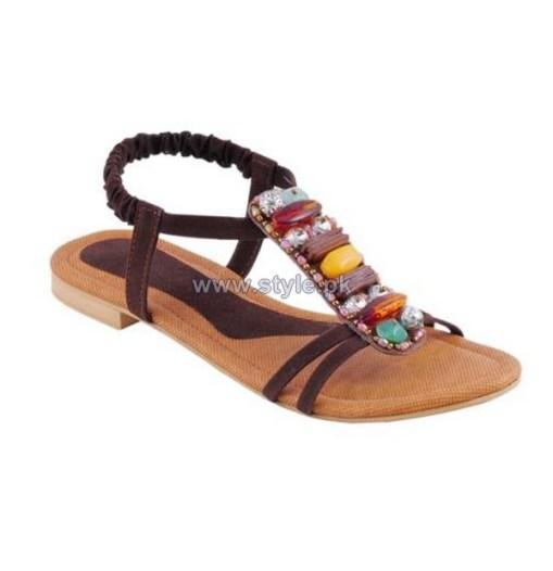 Gul Ahmed Casual Wear Slippers 2014 For Women 8