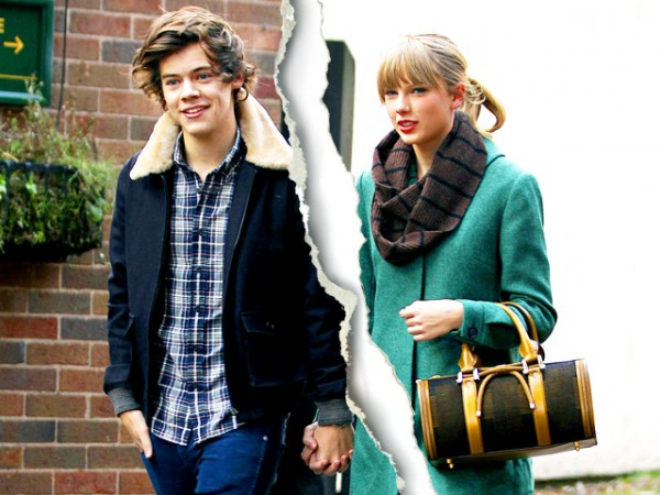 Hollywood Celebrity Splits Of 2013-Taylor Swift and Harry