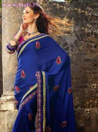 Latest Designs of Sarees 2014 for Women002