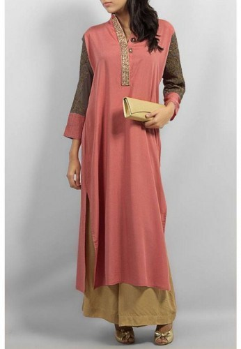 Long Shirts With Palazzo Pants 2014 For Women 009