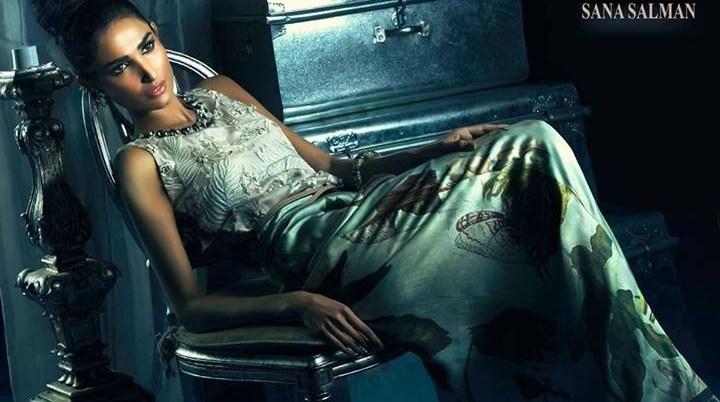 Sana Salman Rafi Formal Wear Dresses 2014