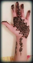 Simple Mehndi Designs For Girls 0011