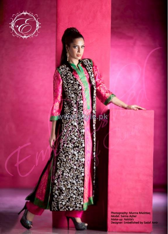 Embellished by Sadaf Amir Formal Dresses 2014 For Spring 2