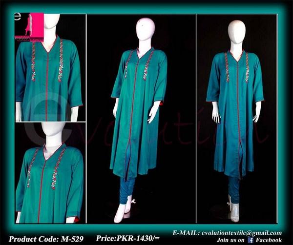 Evolution Textiles Lawn Dresses 2014 For Women 003