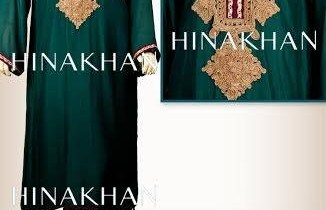 Hina Khan Formal Wear Dresses 2014 for Women
