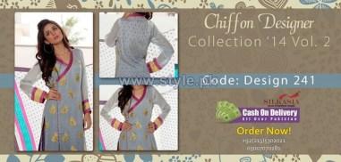 Silkasia Chiffon Collection 2014 For Girls 1