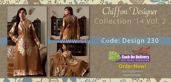 Silkasia Chiffon Collection 2014 For Women 3