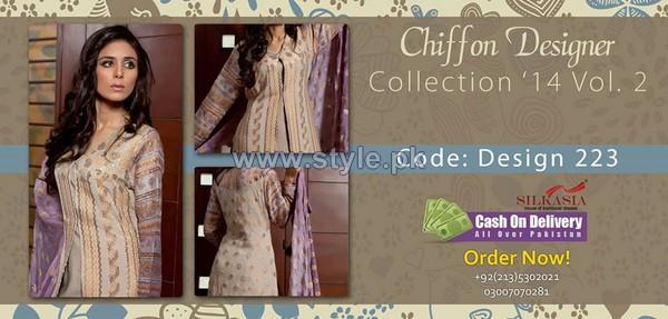Silkasia Chiffon Collection 2014 For Women 4