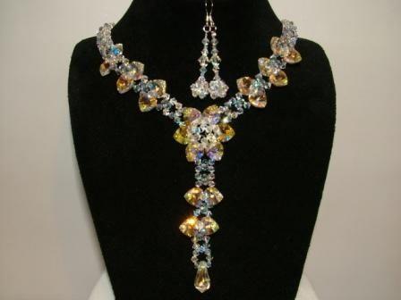 Swarovski Crystal Jewellery Designs 2014 For Women 002