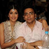 Vaneeza Ahmed with her husband