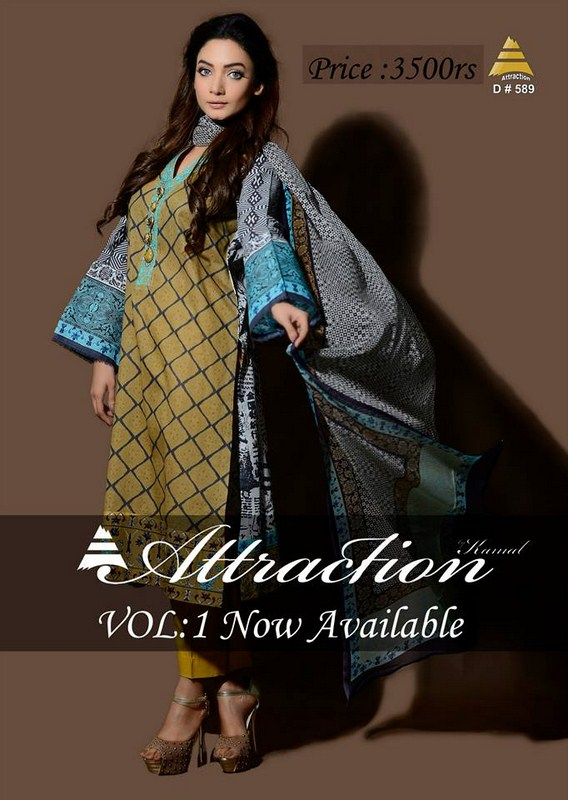 Attraction By Kamal Summer Dresses 2014 For Women 005