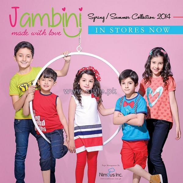 Jambini Kids Wear Dresses 2014 For Summer 2