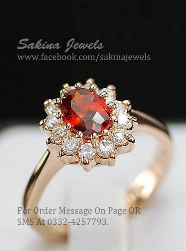 Sakina Jewelery Rings Designs 2014 For Women 008