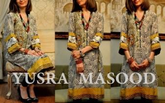Yusra Masood Spring Dresses 2014 For Women 008