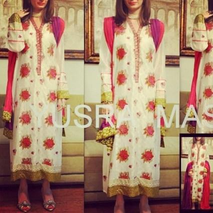 Yusra Masood Spring Dresses 2014 For Women 009