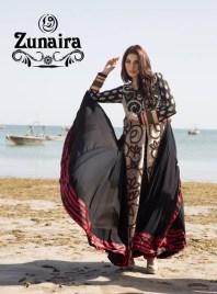 Zunaira Lounge Summer Dresses 2014 For Women 004