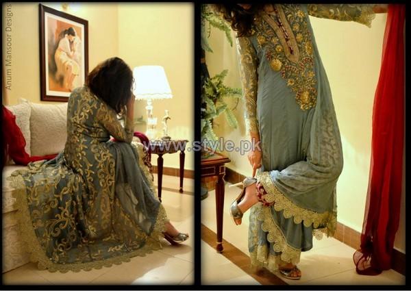 Anum Mansoor Formal Dresses 2014 For Summer 1