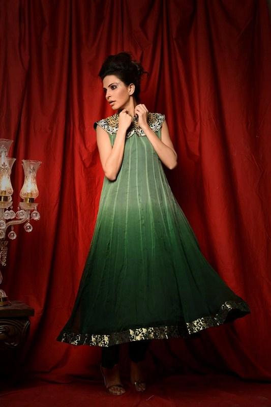 Ashal Mujtaba Summer Dresses 2014 For Women