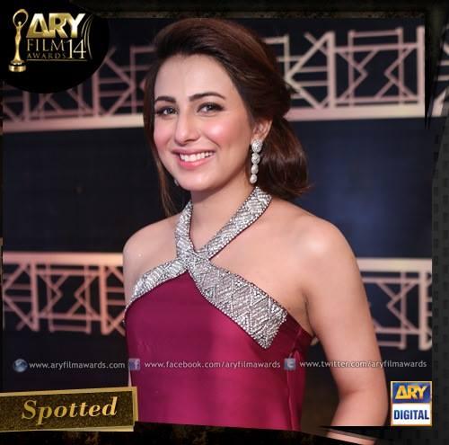 Beautiful Ushna Shah at ARY Film Awards