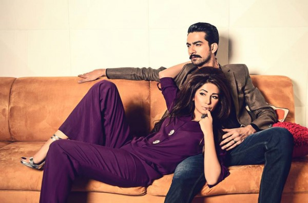 Hira Tareen And Ali Safina New Photo shoot For XPOZE pic 01