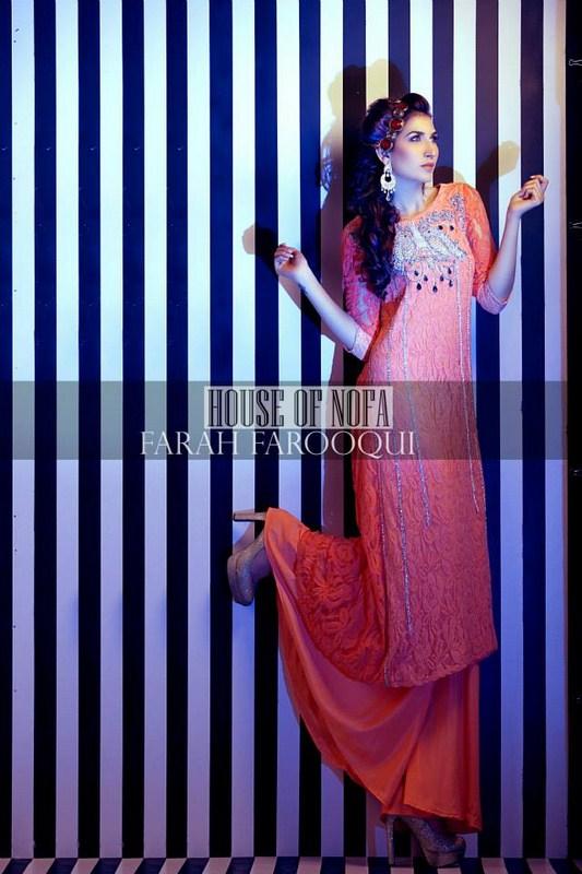 House Of Nofa Summer Dresses 2014 For Women 004