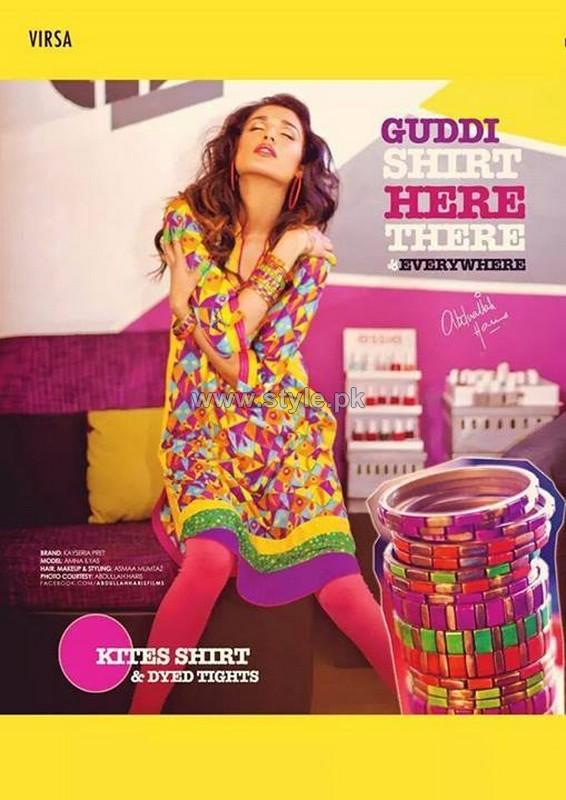 Kayseria Pret Wear Dresses 2014 For Summer 6