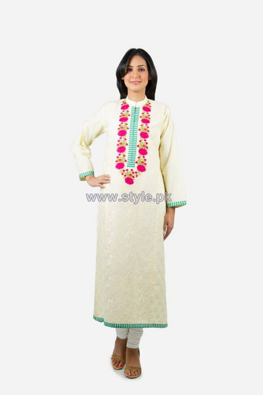 Khaadi Pret Wear Dresses 2014 For Women 5