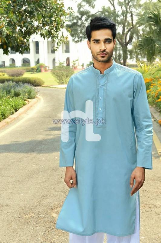 NAQSH Summer Dresses 2014 For Men 10