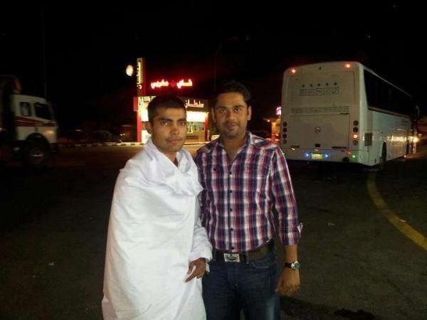 Umar Akmal Umrah Pics 03