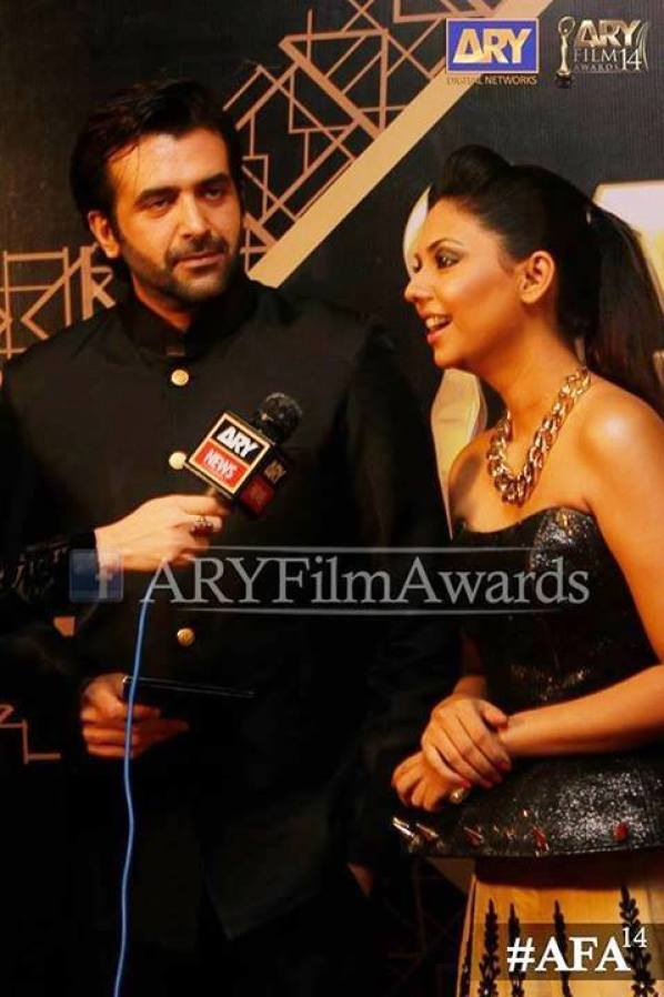 ARY Film Awards Red Carpet Pictures. pic-07