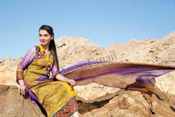 Amna Ismail Summer Dresses 2014 Volume 2 For Women 003