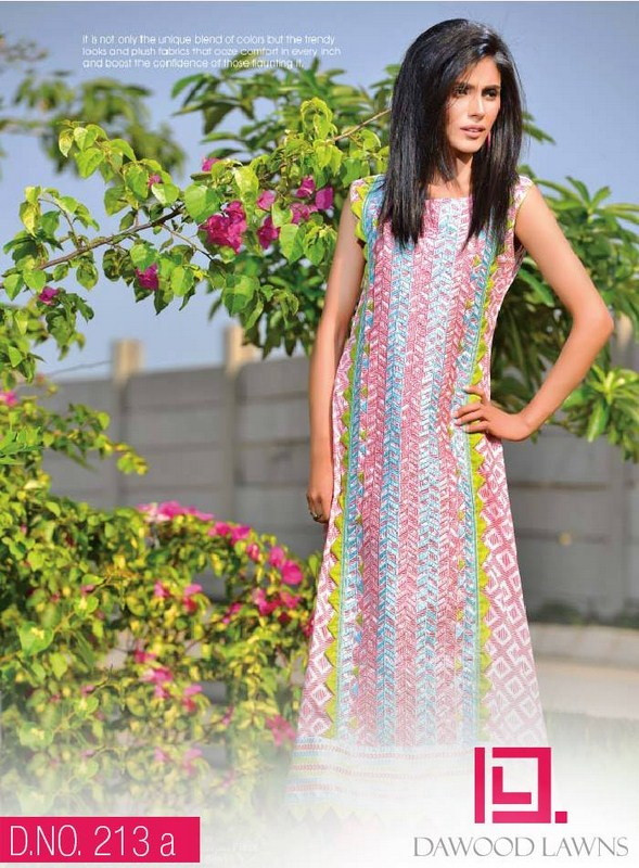 Dawood Textiles Liali Embroidered Lawn Dresses 2014 Volume 2 For Women 005