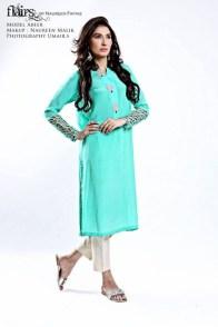 Flairs by Naureen Fayyaz Summer Dresses 2014 for Women001