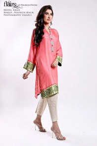 Flairs by Naureen Fayyaz Summer Dresses 2014 for Women004