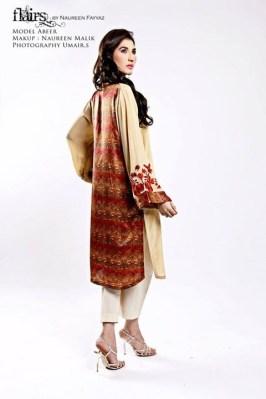 Flairs by Naureen Fayyaz Summer Dresses 2014 for Women006