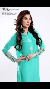Flairs by Naureen Fayyaz Summer Dresses 2014 for Women009