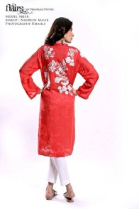 Flairs by Naureen Fayyaz Summer Dresses 2014 for Women010