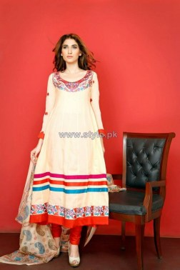 Ghani Textile Party Dresses 2014 For Summer 5