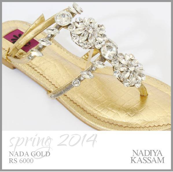 Nadiya Kassam Footwear Collection 2014 For Women