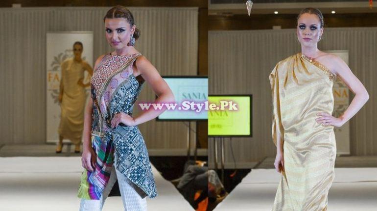 Sania Maskatiya showcase in London at Faisana Fashion Weekend