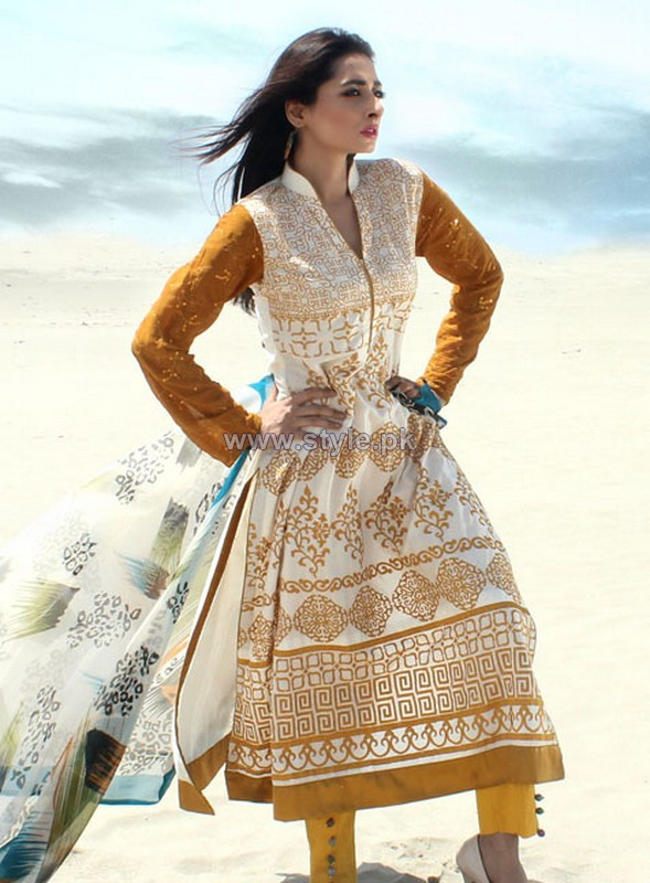 Dicha Embroidered Lawn Dresses 2014 For Eid-Ul-Fitr 10