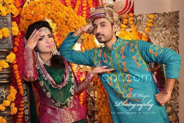 Dua Malik Mehndi And Wedding Pictures 03