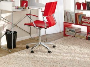 Home Office Designs With Red Accents 009