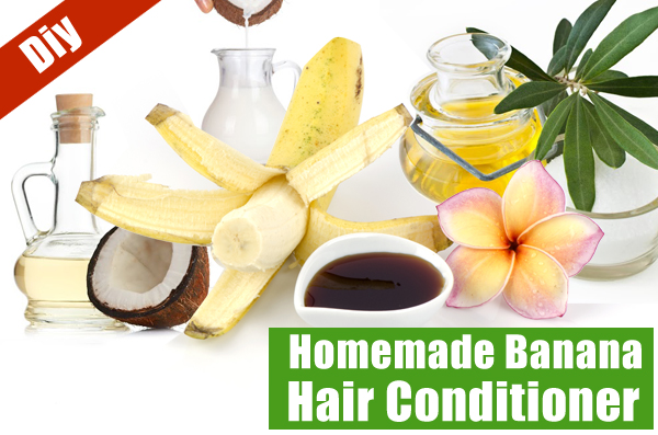 How To Make Homemade Banana Conditioner for Hair Care