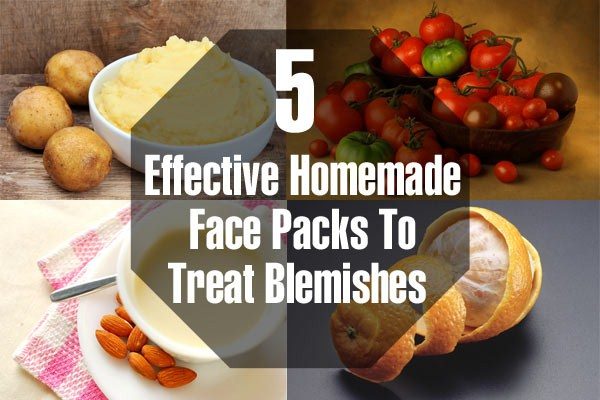 How To Treat Blemishes With Homemade Face Packs