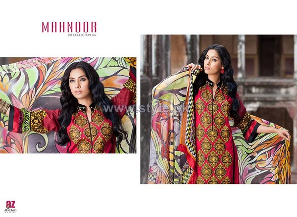Mahnoor Eid Dresses 2014 For Women 11