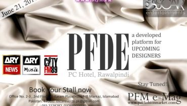 Pakistan Fashion Design Expo 2014 - PFDE 2014