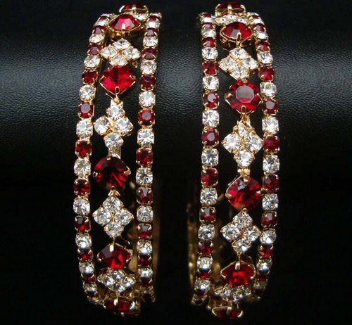 Trends Of Stone Bangles 2014 For Women 009
